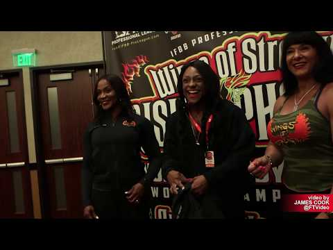 2019 IFBB Pro Rising Phoenix: Arizona Pro – Athlete Check In