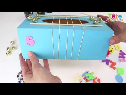🎶✂[TUTO] La boîte à musique - Une vidéo by Tête à modeler