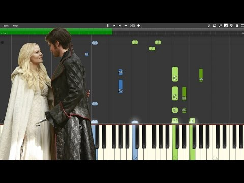 """""""A Happy Beginning""""  - Once Upon A Time [Piano Tutorial] (Synthesia)"""