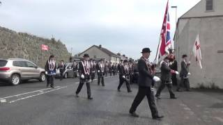 Bruces True Blues Accordion Band @ Bellaghy RBP 573 Sunday Service 2016 (4)