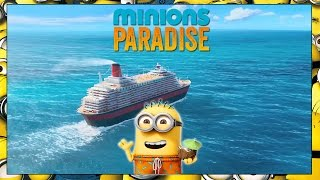 Minions Paradise | How to get fast Sand Dollars! | Waterslide Sharks Tho?