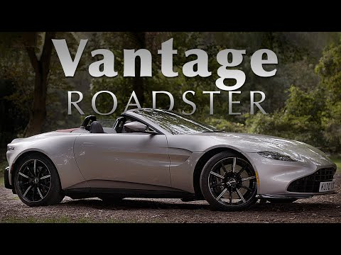 NEW Aston Martin Vantage Roadster: Road Review – INCREDIBLE Engine Sound | Carfection