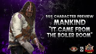 """Character Preview: Mankind """"It Came From The Boiler Room"""" Gameplay! / WWE Champions 😺 screenshot 5"""