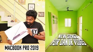 Macbook Pro 2019 and New Space for Dan JR Vlogs | Need Studio Interior Designer