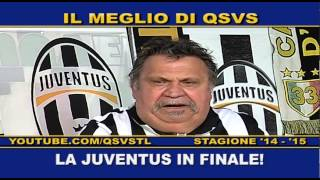 QSVS - REAL MADRID - JUVENTUS 1-1  - TELELOMBARDIA / TOP CALCIO 24