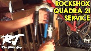 Repairing RockShox Quadra 21 Fork/Shocks That Barely Move - Service