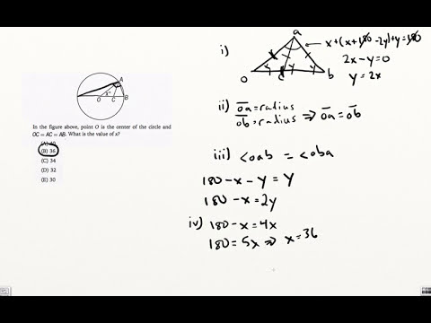 Difficult GMAT Geometry Question -- Plan Your Route First!