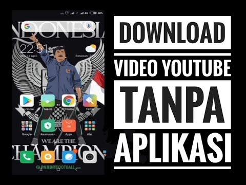 cara download video youtube tanpa aplikasi tambahan
