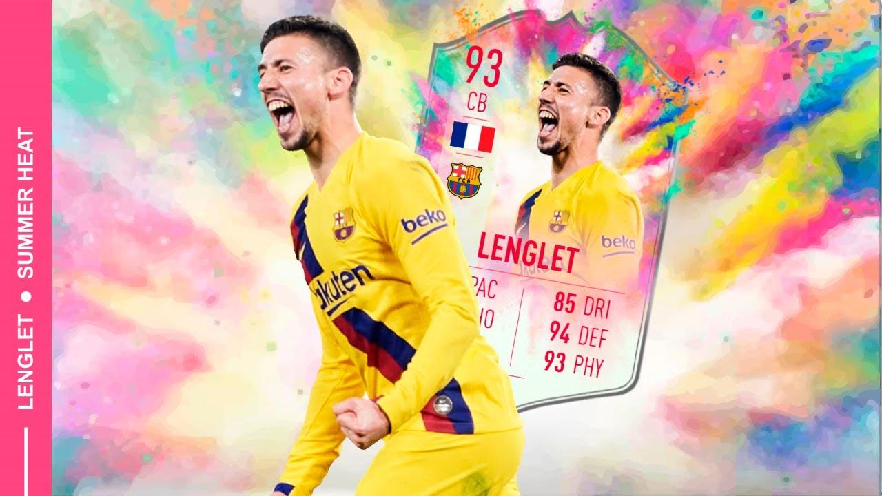 ¿Vale la pena Lenglet 93 SUMMER HEAT? - Review en ESPAÑOL - FIFA 20