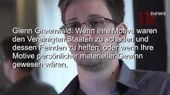 Deutsch:Überwachung sogar beim Präsidenten - Prism Whistleblower Snowden Interview Synchro