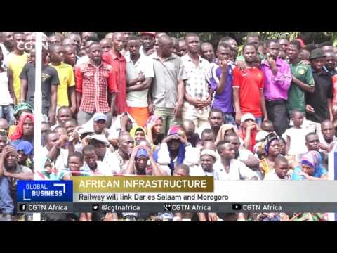 Tanzania begins construction of a 300 kilometre railway