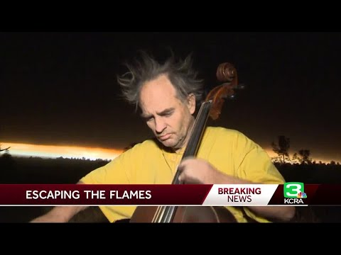 Cellist Escapes Butte County Wildfire On Bicycle