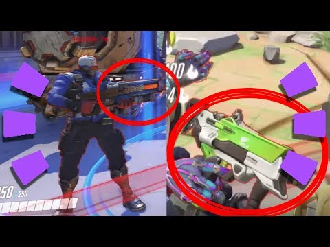 Overwatch - New Skins for Weapons?!