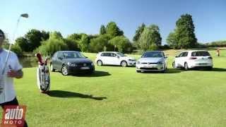 2015 Volkswagen Golf : laquelle est faite pour vous ? - Comparatif AutoMoto