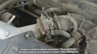 видео ваз 2110 промывка дроссельной заслонки