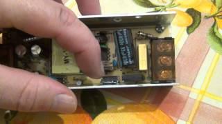 Обзор блока питания для светодиодов. Мощность 60 ватт (12 вольт 5 ампер).