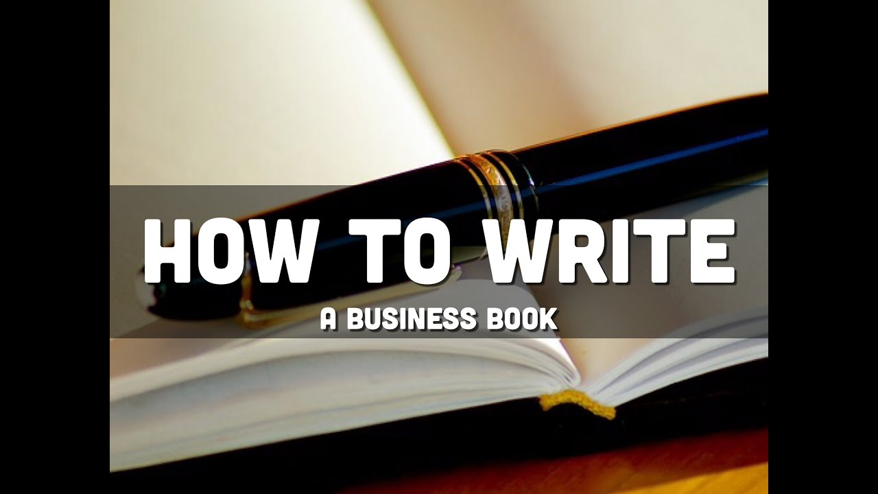 How to write a book fast