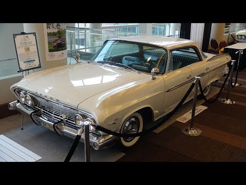 1961 Dodge Dart Phoenix AACA Senior National First Prize Winner.
