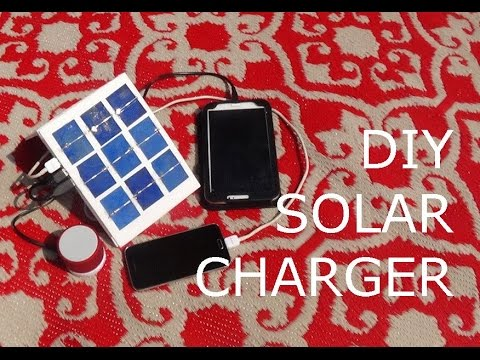 How To Make A Solar Phone Charger Youtube