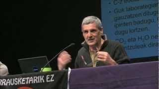 Charla de Fernando Mijangos (EHU-UPV) sobre la gestión de residuos (Agurain, 13.03.02)