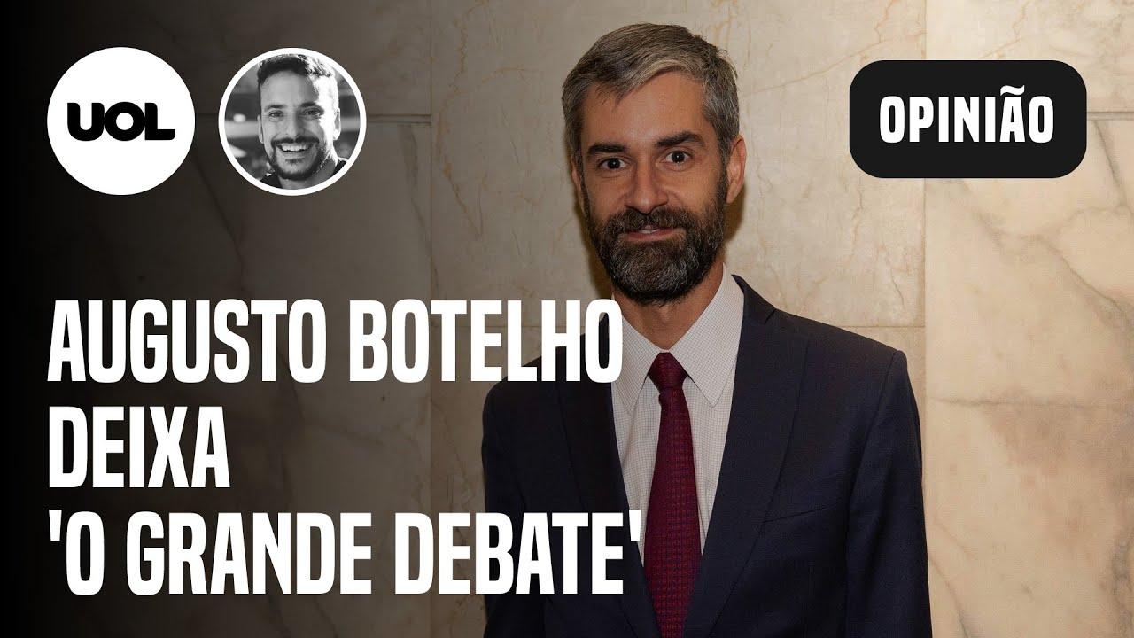AUGUSTO DE ARRUDA BOTELHO DEIXA O GRANDE DEBATE, DA CNN BRASIL - online