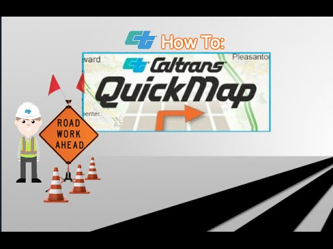 Caltrans District 8 : How to : QuickMap