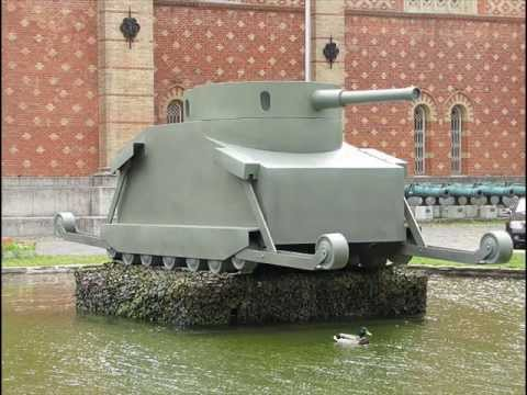 Rare Ww1 Era Tank Burstyn Motorgeschutz Tank Youtube