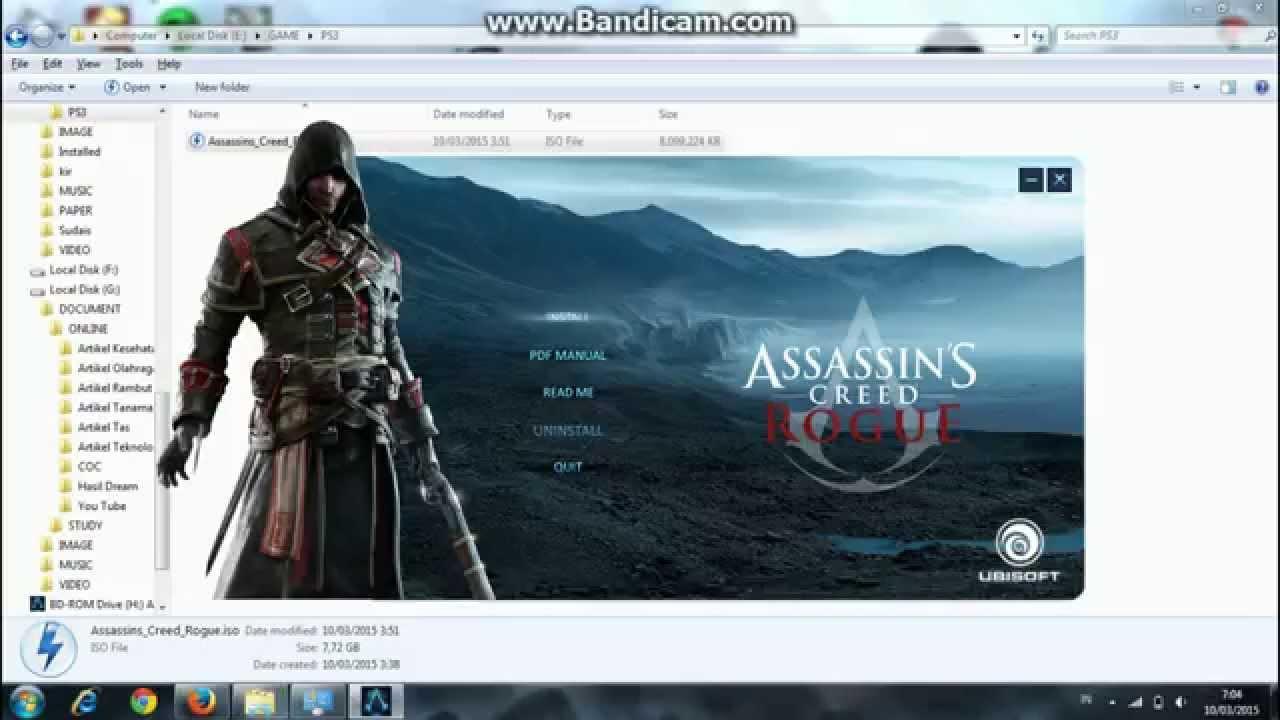 Cara Install Assassin's Creed Rogue - YouTube