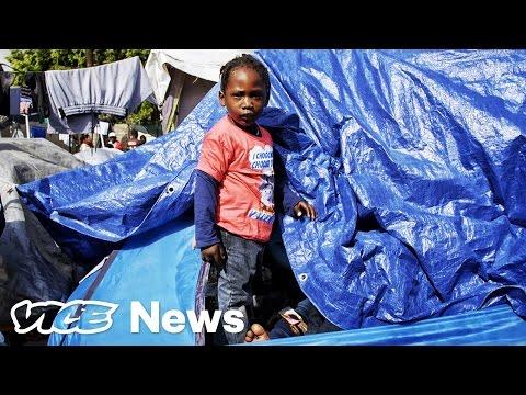 Haitian Migrants Stranded In Tijuana