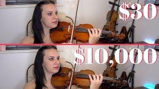 $30 AMAZON violin Vs $10,000 Antique violin