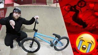 SKEGGSYS BMX BACKFLIP FAIL