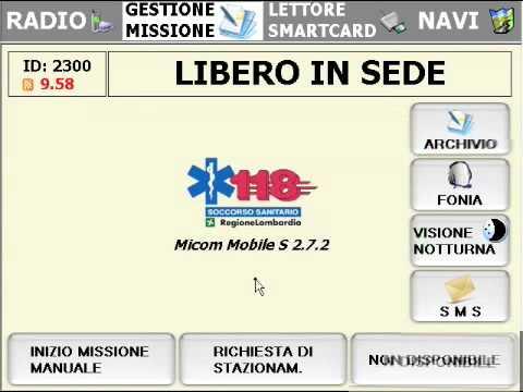 Radio evoluta 118 milano-Lezione 1 Operativo Croce Rossa Italiana