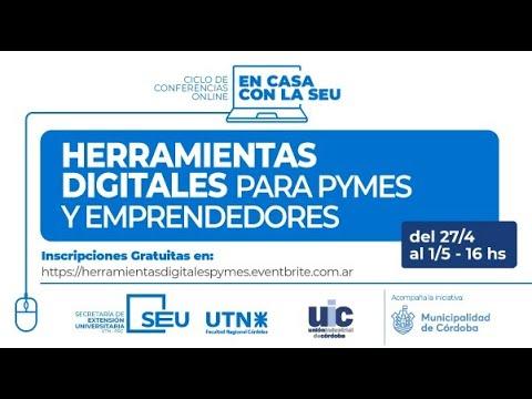 Iniciá tu presencia digital - Herramientas digitales para Pymes y Emprendedores