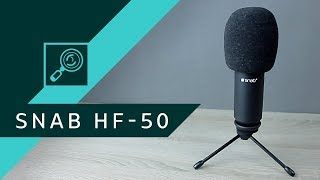 Mikrofon Snab HF-50 vs Blue Yeti ▪ Unboxing & Test #1