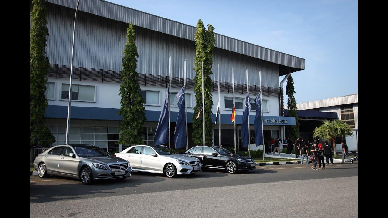 Mercedes Benz Malaysia Pekan Plant 10th Anniversary
