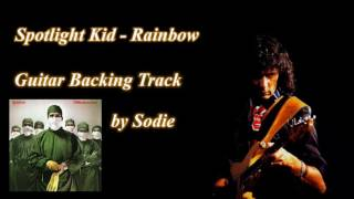 Spotlight Kid - Rainbow cover by Sodie (Guitar Backing Track)