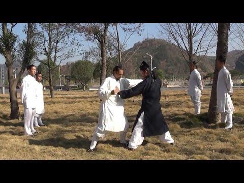 3 Minutes Five Elements Mao Shan Zhan Zhuang Gong Exercise Workout - Qi Gong Chi School