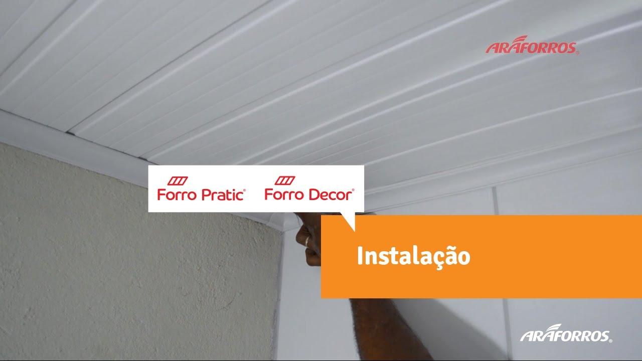 0a4f61fc61fc Como instalar o Forro de PVC - YouTube