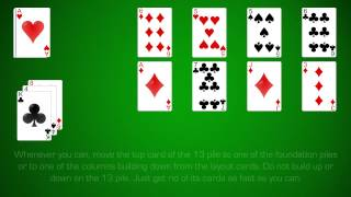 How To Play Canfield Solitaire