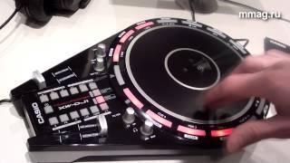 mmag.ru: Musikmesse 2015 - Casio XW  DJ1 - DJ   контроллер