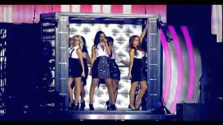 The Saturdays- Intro & Notorious [All Fired Up Tour Live DVD]