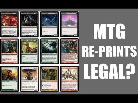 Are MTG Reprints Off the Reserved List Legal? Can Wizards of the Coast Reneg on a 20 Year Promise