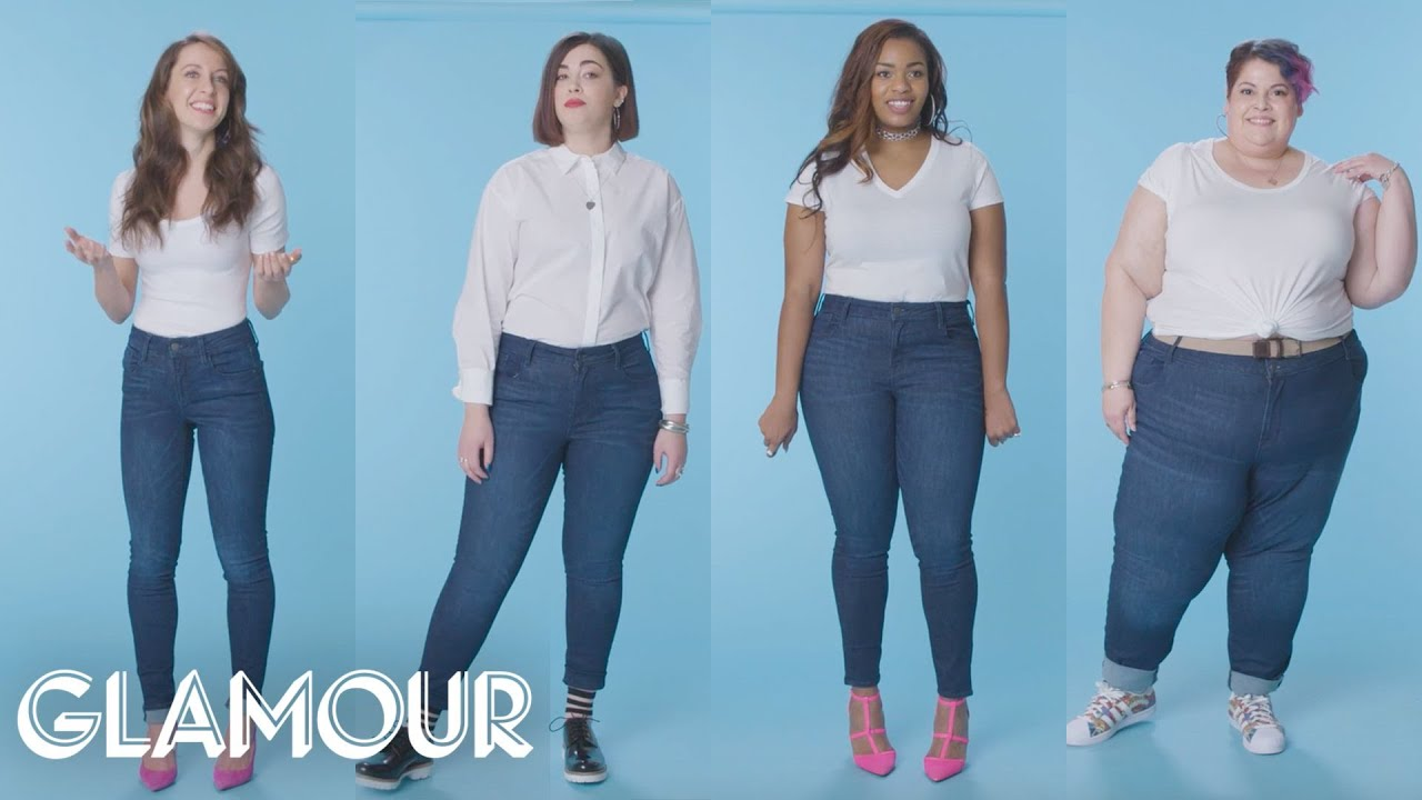 Women Sizes 0 Through 28 Try On The Same Jeans