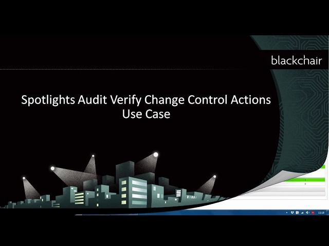 Audit - Verify Change Control Actions
