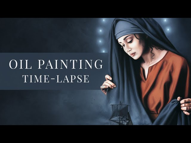 Star of the Sea » Oil Painting Time-lapse by Tianna Williams