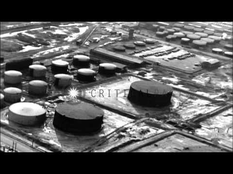 Aerial views of the shipyards in Chester, Pennsylvania. HD Stock Footage