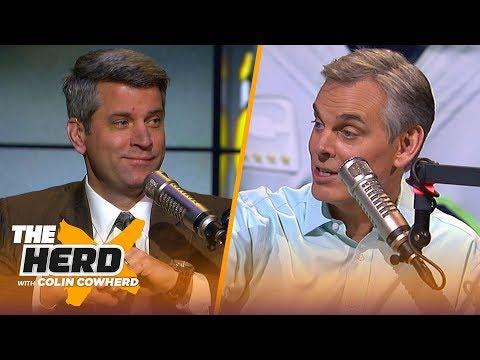 Mark Dominik speaks on Le'Veon Bell's free agency and confidence in Antonio Brown | NFL | THE HERD