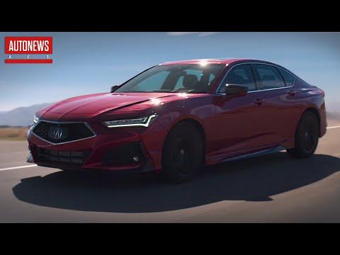 Новая Acura TLX (2021): самый быстрый седан марки! Все подробности