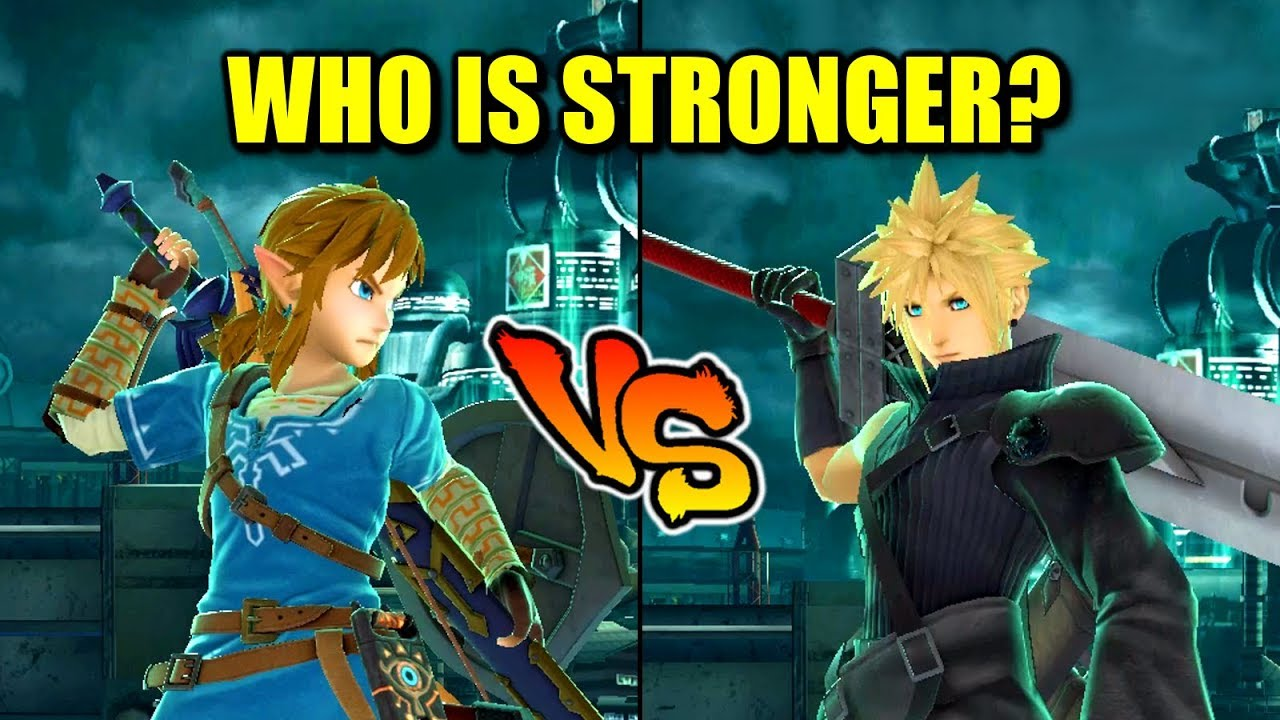 Link VS Cloud - Who is Stronger in Super Smash Bros. Ultimate? thumbnail