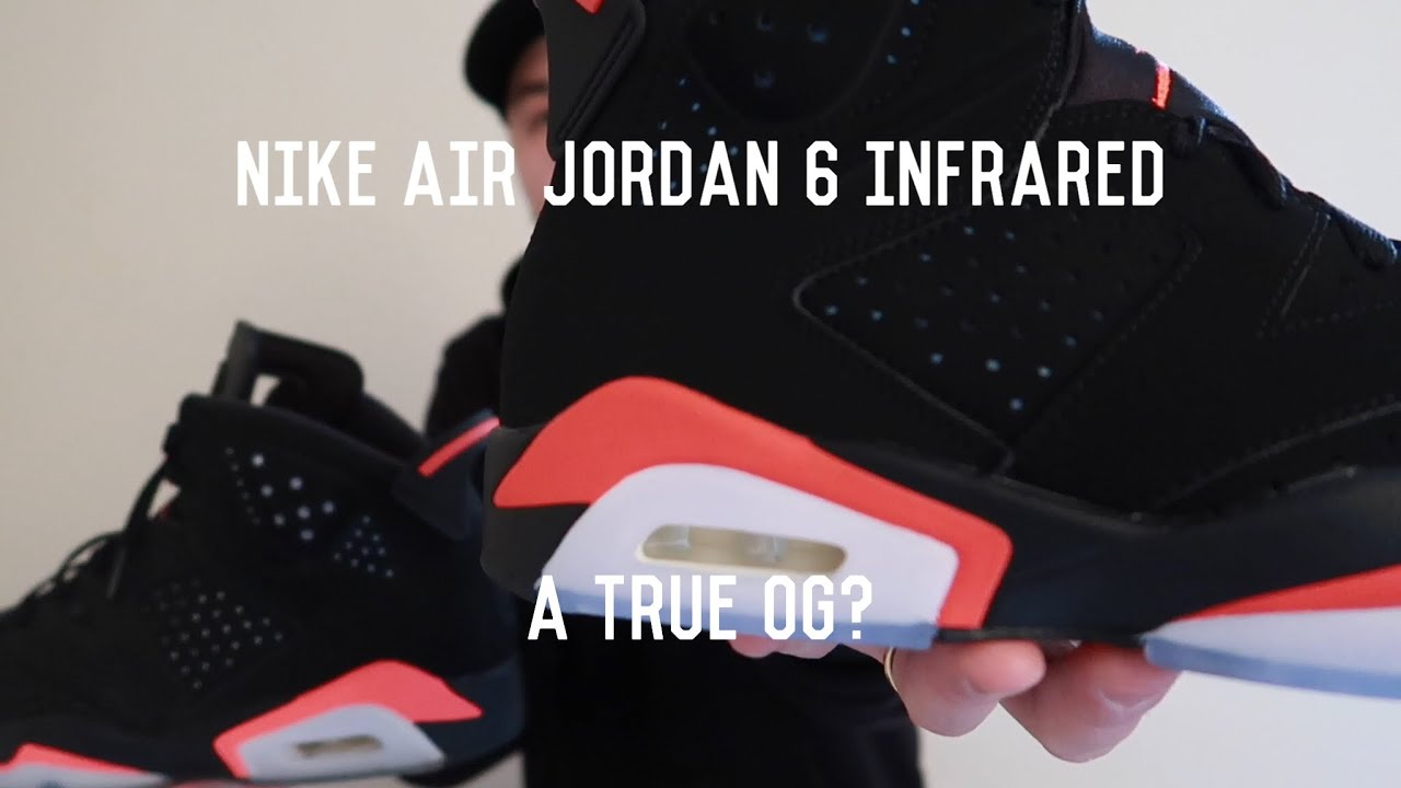 c7ceb5d2ac2c 2019 Air Jordan 6 Infrared Unboxing Review VS 2014 and OG - YouTube